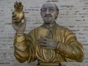 San Vicente de Paul. Basilica de Saint Sernin. Toulouse. Foto R.Puig.