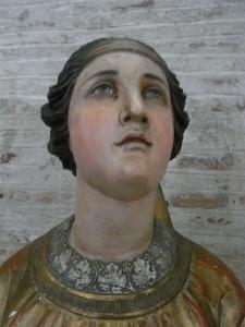 Santa Agueda. Basilica de Saint Sernin. Toulouse. Foto R.Puig.