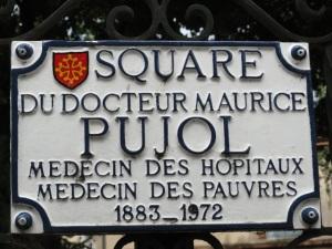 Toulouse. En la plaza del Dr.Pujol. Foto R.Puig.