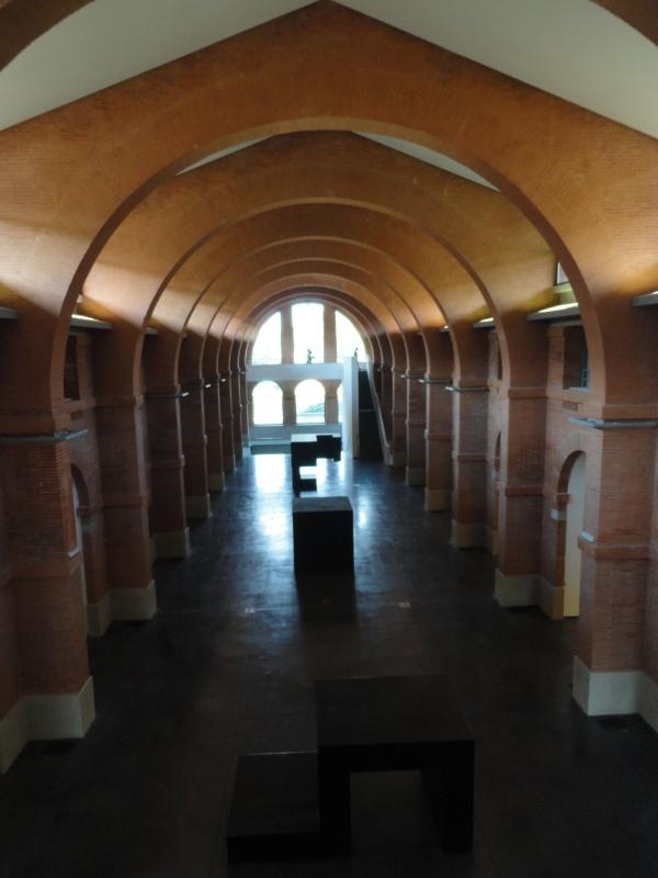 Toulouse. Nave principal de Les abattoirs. Foto R.Puig.