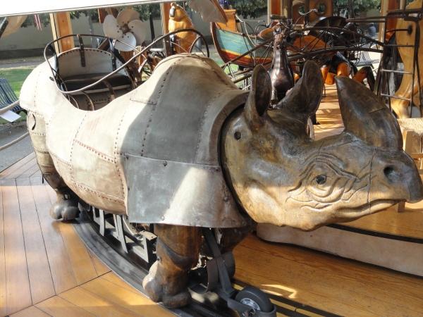 Toulouse. Rinoceronte del Beau Manège. Foto R.Puig.