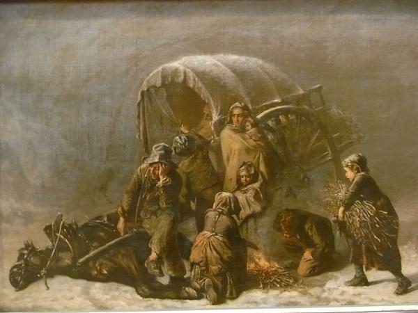 Alexandre Antigna. c.1855. Les Augustins. Foto R.Puig.