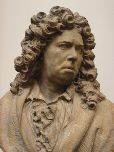 Autorretrato de buen humor de Marc Arcis. ss. XVII a XVIII. Les Augustins. Foto R.Puig.