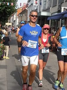 Corriendo que es gerundio. Ironman Kalmar 2013. Foto R.Puig