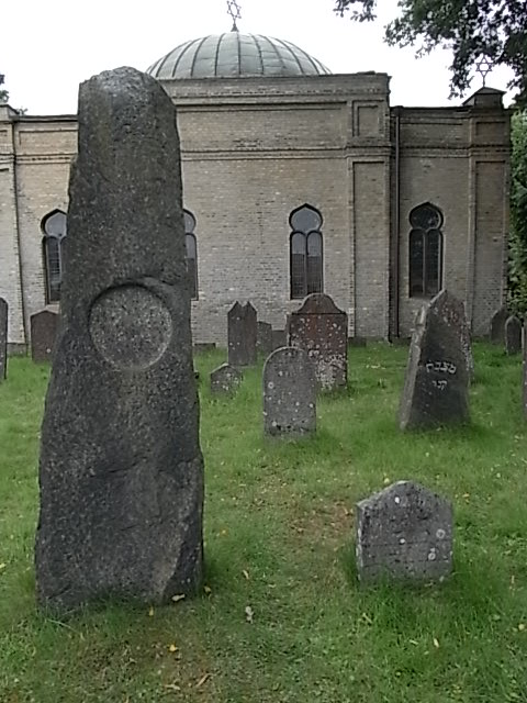 Detrás de la capilla. Cementerio judio. Gotemburgo. Foto R.Puig.