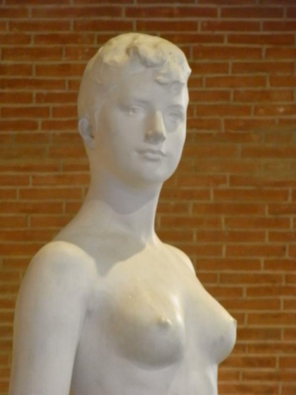 Diana por Alexandre Falguiere. 1897. Les Augustins. Foto R.Puig.
