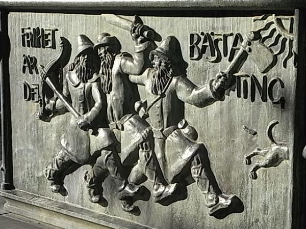 El pueblo se libera. Fuente monumental a la victoria de Gustav Vasa. Nils Sjogren. 1928. Kalmar. Foto R.Puig. (2)