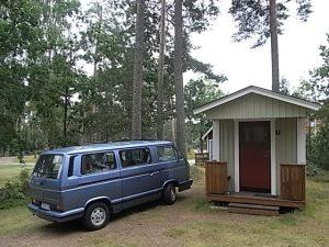En el camping de Nybro. Foto R.Puig.