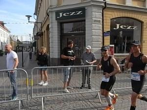 Hola familia. Esto esta chupado. Ironman Kalmar. Foto R.Puig.