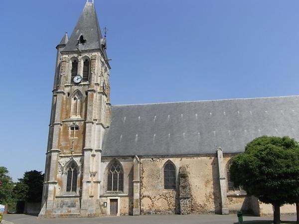 Iglesia de Brezolles. Foto R.Puig