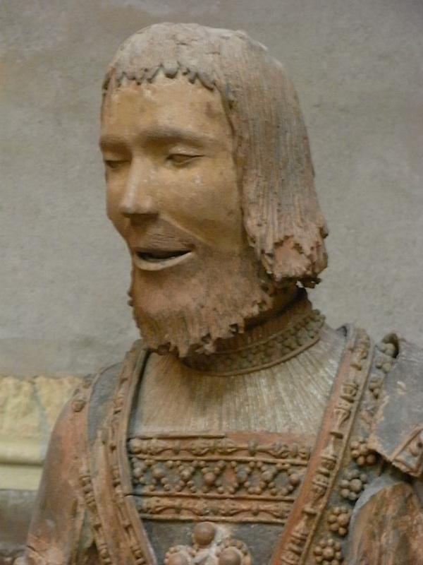 ean Bauduy. s.XVI. Profeta del deambulatorio de Saint Sernin. s.XVI. detalle.  Les Augustins. Foto R.Puig.