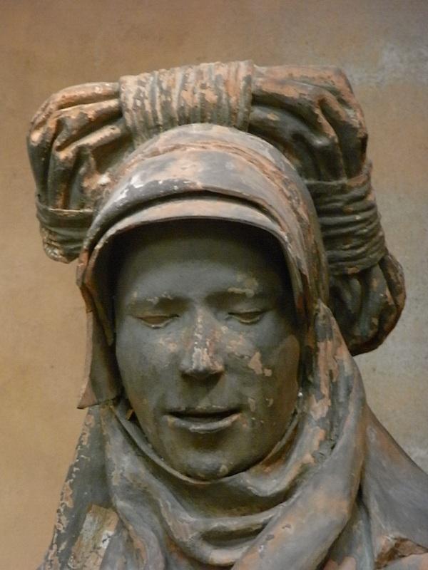 Jean Bauduy. s.XVI. Sibila del deambulatorio de Saint Sernin. s.XVI. Detalle.  Les Augustins. Foto R.Puig.