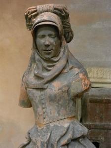 Jean Bauduy. s.XVI. Sibila del deambulatorio de Saint Sernin. s.XVI. Les Augustins. Foto R.Puig.