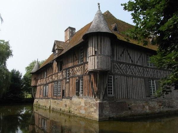 Normandia. Chateau de Coupesarte. Foto R.Puig.