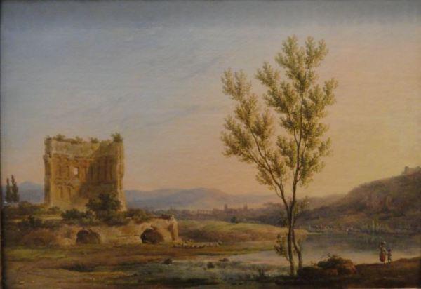 Paisaje cerca de Roma. Pierre Henri de Valenciennes. Museo de Les Augustins. Foto R.Puig