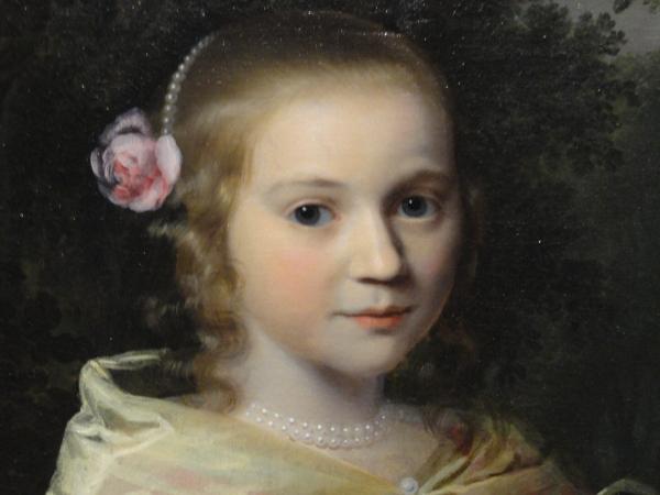 Retrato infantil. Les Augustins.  Foto R.Puig.
