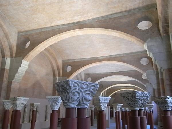 Sala de los capiteles. Les Augustins. Foto R.Puig.