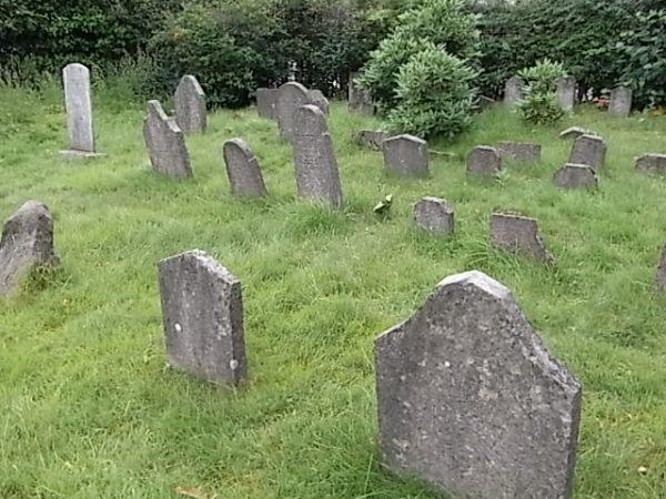Tumbas antiguas. Cementerio judío. Gotemburgo. Foto R.Puig.