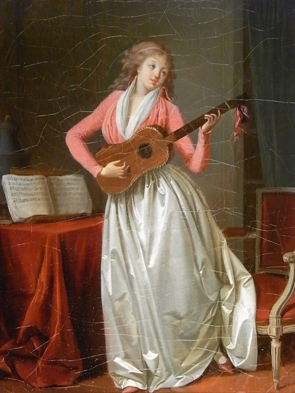 Henri Van Gorp. Nina tocando una romanza. ss.XVIII a XIX. Romanza. Les Augustins. Foto R.Puig.