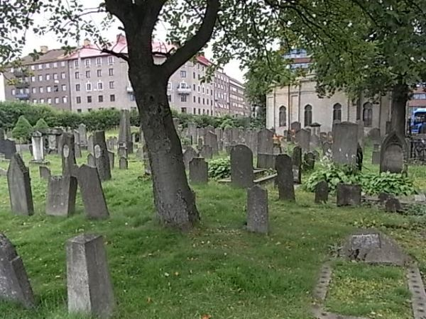 Vista general. Cementerio judío. Gotemburgo. Foto R.Puig.