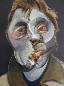 Francis Bacon. Autorretrato 1969. Coleccion particular.