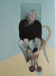 Francis Bacon. Autorretrato. Detalle. Coleccin particular.
