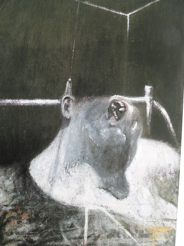 Francis Bacon. Cabeza. 1948. Coleccion Richard S.Zeisler. N.Y.