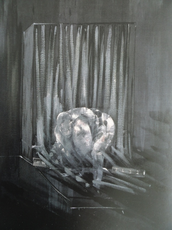 Francis Bacon. Estudio de cuerpo humano. 1949. National Gallery of Victoria, Melbourne