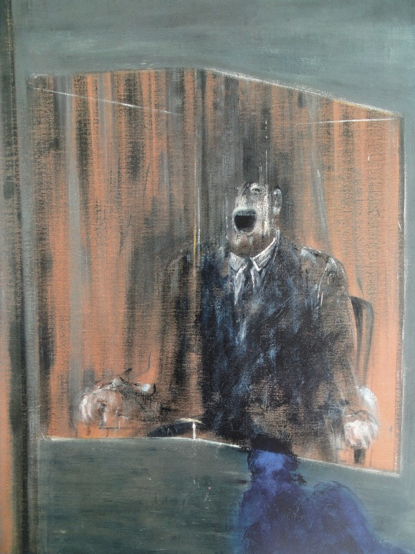 Francis Bacon. Estudio de retrato. 1949. Museo de Arte Contemporaneo. Chicago.