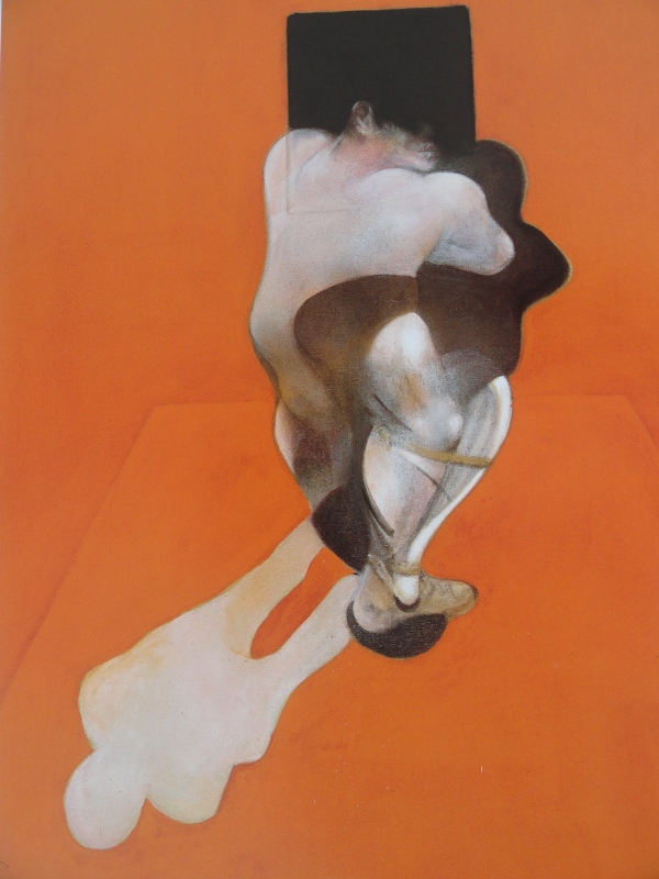 Francis Bacon. Triptico. 1983. Galería Marlborough..