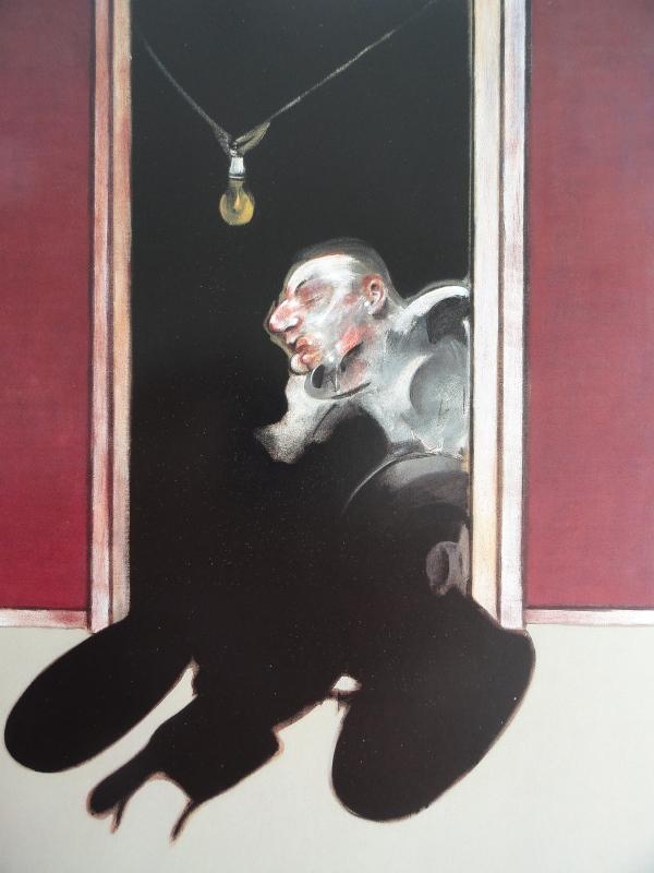 Francis Bacon. Tríptico Mayo Junio 1973. Detalle. Colección particular.