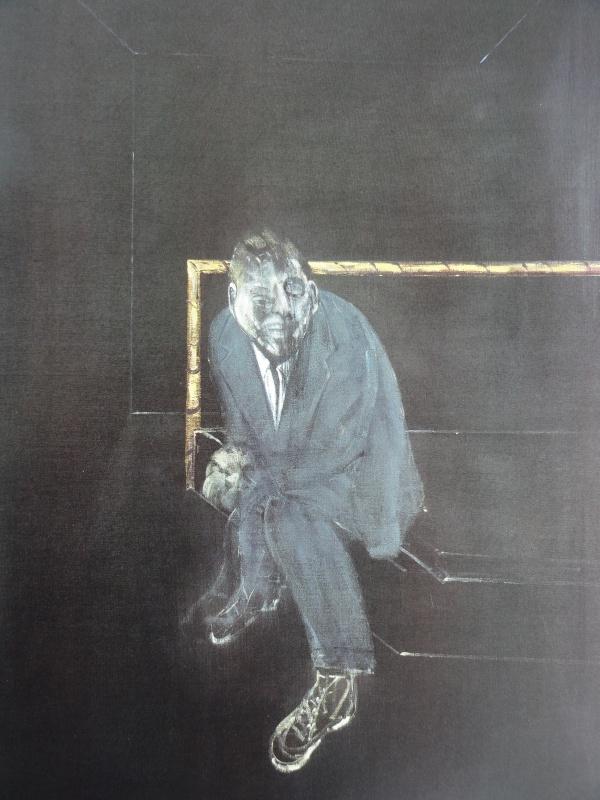 Francis Bacon. Triptico Mayo Junio 1973. Detalle. Coleccion particular.