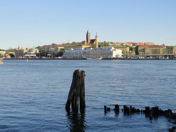 Vista de Gotemburgo desde Sannegardshamnen. Foto R.Puig.