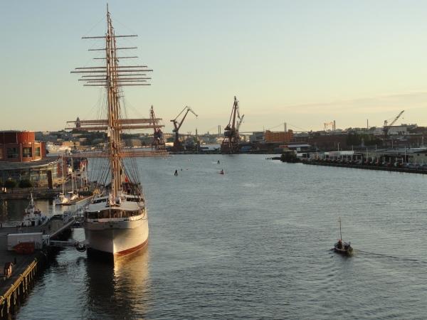 Vista desde el Alvsbron Gotemburgo. Foto R.Puig.