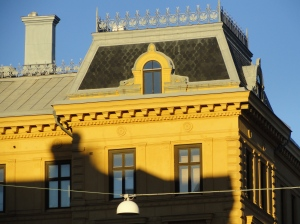 Atardecer otoñal. Vasastan. Gotemburgo.Foto R.Puig