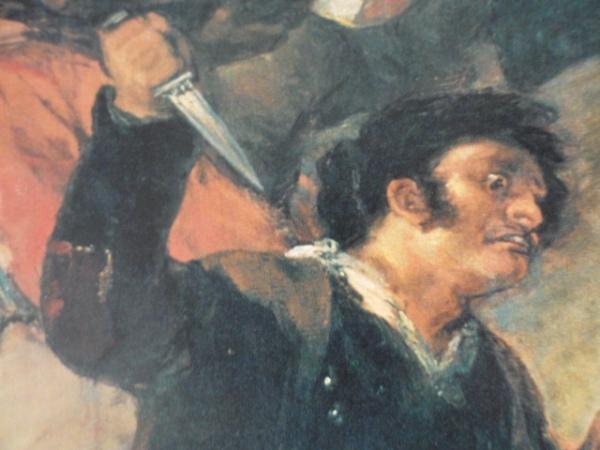 Goya.La carga de los mamelucos. Detalle. Museo del Prado.
