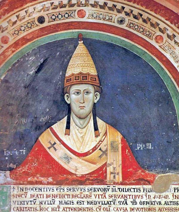 Inocencio III 1198 a 1216