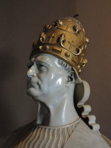 Pio XI. Wildt. 1926.Museos Vaticanos. Foto R.Puig.