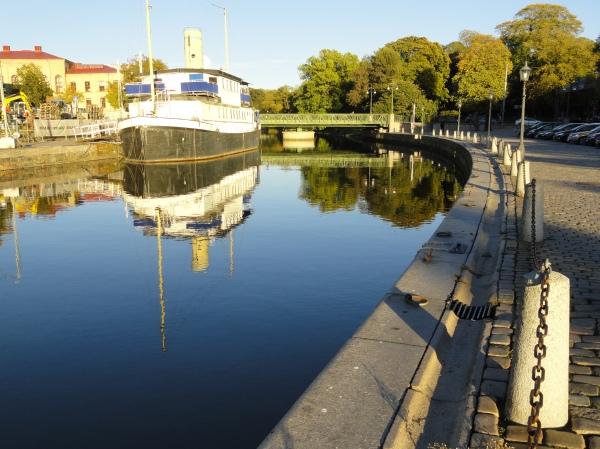 Reflejos de otoño. Gotemburgo. Foto R.Puig