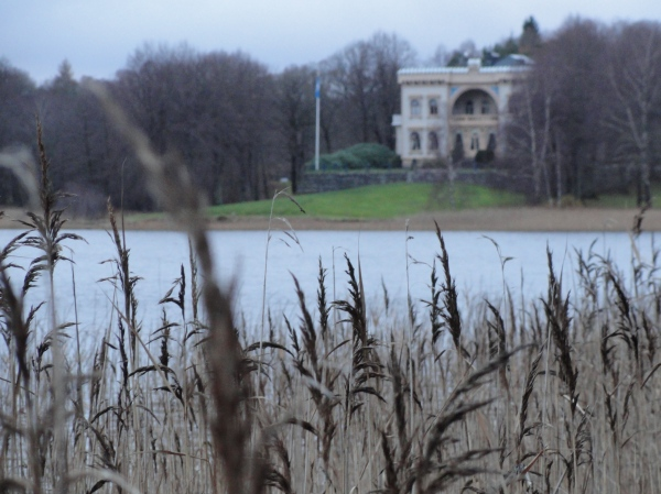 Bahía del castillo de Gunnebo desde Råda Säteri.Foto R.Puig.