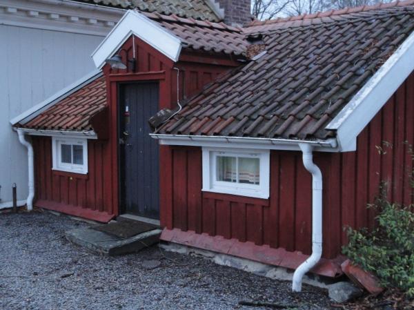 La casita roja. Råda Säteri.Foto R.Puig.