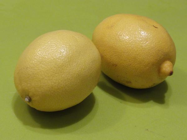 Limones en mi cocina. Foto R.Puig.