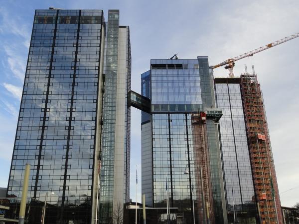 Torres trillizas. Gotemburgo. Foto R.Puig.