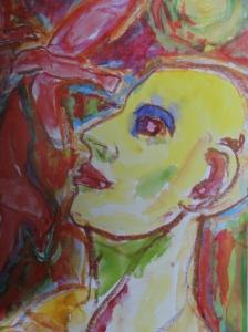 Acuarela y pastel. 2001.Mauritz Karström.