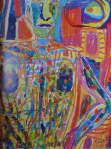 Acuarela y pastel. 2005.Mauritz Karström. Galeria Fahlnaes.Foto R.Puig