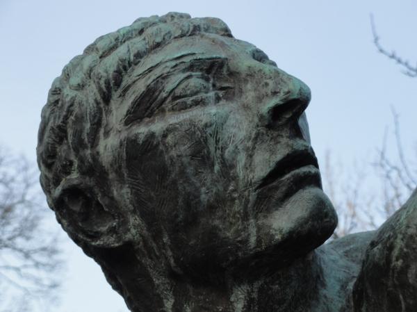 Cabeza del Herakles de Bourdelle. Waldemarsudde. Foto R.Puig.