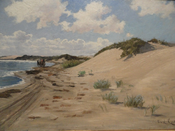 Carl Locher. La diligencia. 1872. Skagen. Foto R.Puig.