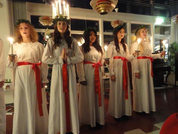 Fiesta de Lucía. Kungsbacka. Foto R.Puig