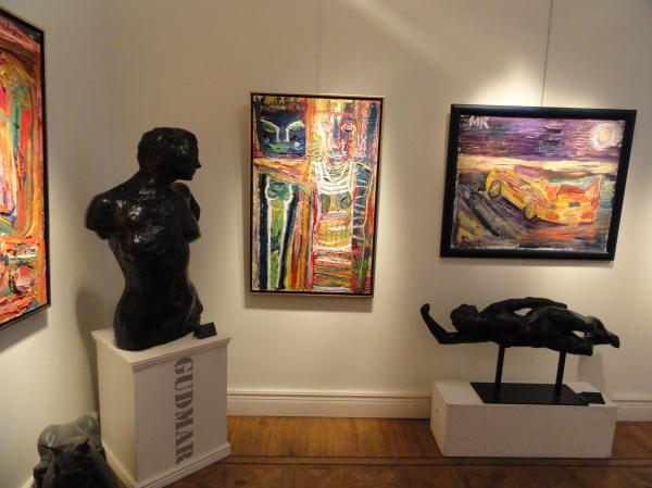 Exposición de Mauritz Karström en la Galeria Fahlnaes. Foto R.Puig