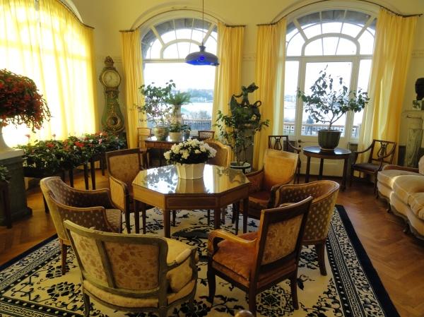 Interior de la mansión. Waldermasudde. Foto R.Puig.